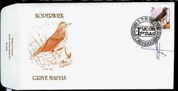 FDC Du N° 2653  Koperwiek  /  Grive Mauvis   Obl. Bruxelles - Brussel  1/07/1996 - 1985-.. Oiseaux (Buzin)