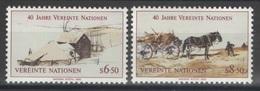 Nations Unies (Vienne) - YT 51-52 ** MNH - 1985 - Wien - Internationales Zentrum