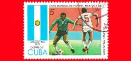 CUBA - Nuovo Obl. - 1985 - Coppa Del Mondo Di Calcio,  Messico 1986 - Argentina (1978) - 5 - Cuba