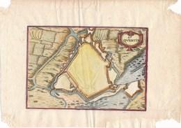 Carte Géographique Très Très Ancienne De SAINT QUENTIN 02 AISNE   Provenance à Identifier ??? - Historical Documents