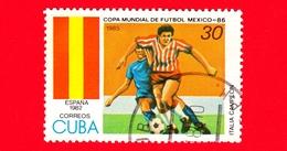 CUBA - Nuovo Obl. - 1985 - Coppa Del Mondo Di Calcio,  Messico 1986 - Spagna (1982) - 30 - Cuba