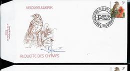 FDC Du N° 2705  Veldleeuwerik  /  Alouette Des Champs    Obl. Bruxelles - Brussel  05/05/97 - 1985-.. Oiseaux (Buzin)