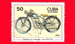 CUBA - Nuovo Obl. - 1985 - Motociclette - Daimler - Simon BSW, 1936 - 50 - Cuba