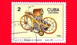 CUBA - Nuovo Obl. - 1985 - Motociclette - Daimler-Motorrad, 1885 - 2 - Cuba