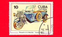 CUBA - Nuovo Obl. - 1985 - Motociclette - Fanomobil, 1925 - 10 - Cuba
