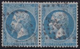 N°22 Paire Position 17D3 18D3, Pas Facile De La Positionner, TB - 1862 Napoléon III