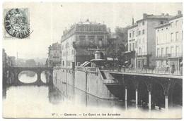 Castres Le Quai Et Les Arcades - Castres
