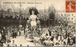 CARNAVAL DE NICE 1911 MADAME CARNAVAL - Carnaval