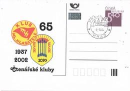 33087. Entero Postal PRAHA (Republica Checa) 2002, Anniversary Club SCOUT - Enteros Postales