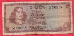 Afrique Du Sud 1 Rand (1973-85) Sign 5 Dans L 'état (4) - Zuid-Afrika