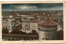 MILANO - Panorama Dal Castello Sforzesco - Formato Piccolo - Milano