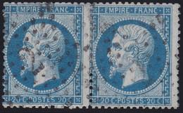 N°22 Paire Position 72D3 73D3, Pas Facile De La Positionner, TB - 1862 Napoléon III