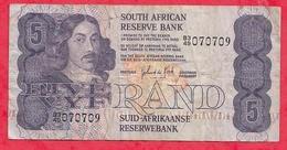 Afrique Du Sud 5 Rand (1981) Sign 6 Dans L 'état (5) - Zuid-Afrika