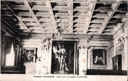 AP623 TEMPIO PAUSANIA - OLBIA  - FP NV EPOCA 1915 - Olbia