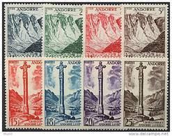 Andorre, N° 138 à N° 153** Y Et T - Nuevos