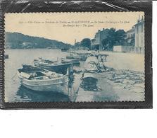 83-SAINT-MANDRIER-sur-MER-Une Vue Animée De PECHEURS Reparant Leur Filet Sur Les Quais Du CREUX-SAINT-GEORGES - Saint-Mandrier-sur-Mer