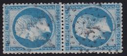 N°22 Paire Position 88D3 98D3, Pas Facile De La Positionner, TB - 1862 Napoléon III