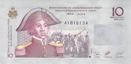 10 Dayiti Haiti UNC 2004 - Haïti