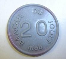 Jeton. 16. Jeton En Plastique D Ela Banque Du Jeu. 20 Mob - Professionals / Firms