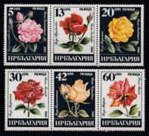 1985 Bulgaria Rose Roses Fiori Blumen Flowers Fleurs MNH** Fio231 - Rose