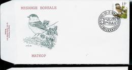 FDC Du N° 2695  Mésange Boréale  /  Matkop   Obl. : Bruxelles  -  Brussel  10/03/97 - 1985-.. Oiseaux (Buzin)