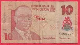 Nigeria 10 Naira 2010   Dans L 'état (15) - Nigeria