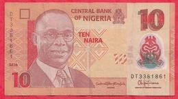 Nigeria 10 Naira 2016   Dans L 'état (18) - Nigeria