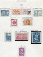 13210 BRESIL Collection Vendue Par Page  PA 54/5, 56, 57, 58, 59, 60, 61, 62, 63 */ °   1948-49  B/TB - Airmail