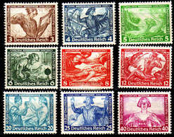 GERMANY REICH [1933] MiNr 0499-07 A ( */mh ) - Germany
