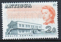 Antigua Single 2 Cent Single Stamp From The 1966 Island Views And Buildings Definitive Issue. - Antigua & Barbuda (...-1981)