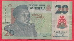 Nigeria 20 Naira 2010   Dans L 'état (21) - Nigeria