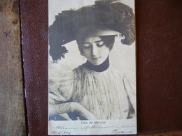 CLEO De MERODE    1902 - Entertainers