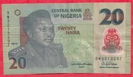 Nigeria 20 Naira 2014   Dans L 'état (23) - Nigeria