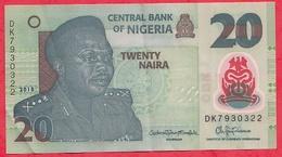 Nigeria 20 Naira 2018   Dans L 'état (27) - Nigeria