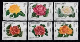 1994 Bulgaria Rose Roses Fiori Blumen Flowers Fleurs MNH** Fio232 - Rose