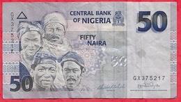 Nigeria 50 Naira 2008   Dans L 'état (29) - Nigeria