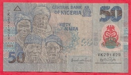 Nigeria 50 Naira 2009   Dans L 'état (30) - Nigeria