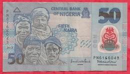 Nigeria 50 Naira 2013   Dans L 'état (31) - Nigeria