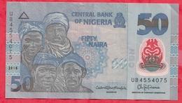 Nigeria 50 Naira 2018   Dans L 'état (34) - Nigeria