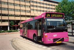 Bus, Omnibus, Volvo, RET, Rotterdam, Capelsebrug, Public Transport, Real Photo - Auto's