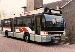 Bus, Omnibus, DAF-Hainje, RET, Rotterdam, Sluisjesdijk, Public Transport, Real Photo - Auto's