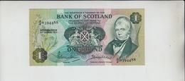 AB26. 10th August 1970 Edinburgh Bank Of Scotland £1 Banknote #A/4 0394488 FREE UK P+P - [ 3] Scotland