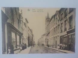 Lier Lierre CP Animée  Lisperstraat Rue De Lisp Magasins Commerces Edit A. Van Dyck - Lier