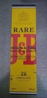 Boite étui Whisky J&B RARE 70 Cl - Autres Collections