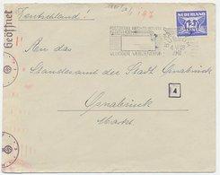 Em. Duif Bussum - Osnabruck Duitsland 1941 - Censuur WOII - Ohne Zuordnung