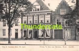 CPA SLUIS HOTEL 'T HOF VAN BRUSSEL KAAI - Sluis