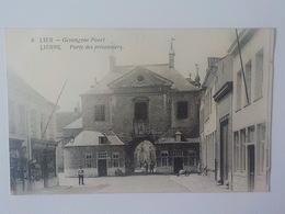 Lier Lierre CP Animée Gevangene Poort Porte Des Prisonniers Edit A. Van Dyck N° 8 - Lier