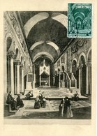 45476 Vaticano, Maximum 1949  Architecture,  The Vatican Church S. Maria Comedim Of Rome - Cartas Máxima