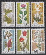 1989 Bulgaria Plants Threatened With Extinction MNH** Fio233 - Altri