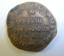 Jeton. 23. Le Trésor Des Pirates 12 Brésil Collection BP - Professionals / Firms